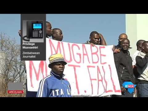 Anti-government protests erupt in Zimbabwe