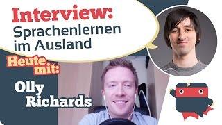"""Interview mit 8-sprachigen Polyglot Olly Richards von """"I will teach you a language"""""""