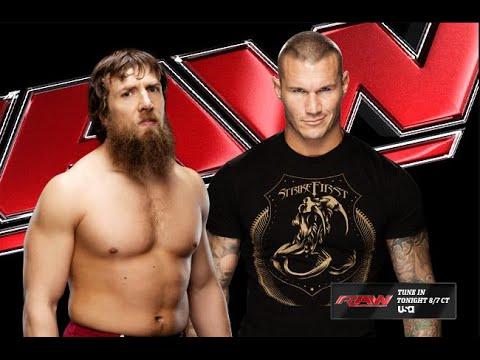 Wwe Daniel Bryan VS. Randy Orton - لعبة المصارعه الحرة Wwe - اخر حلقات المصارعه اروتين