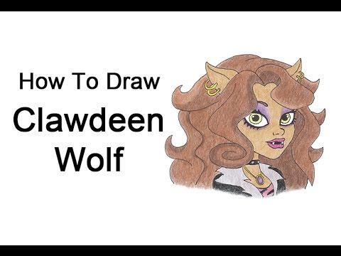 Anime wolf paws