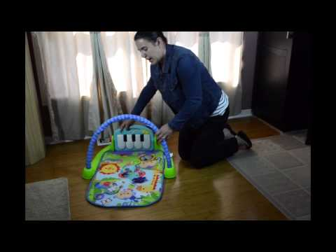 Video Review ~  Fisher-Price Kick And Play Piano Gym