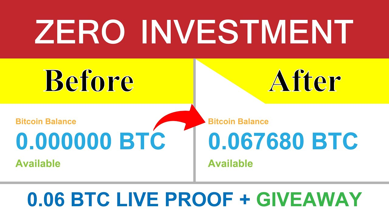 Best Way To Earn Free Bitcoin 2020 - Earn Daily 0.06 Btc Live ...