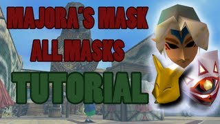 Repeat youtube video Majora's Mask: All Masks Tutorial