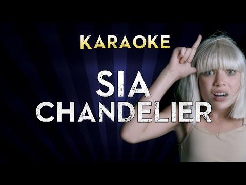 Sia - Chandelier  Lower Key 3 G Karaoke Instrumental  Cover Sing Along