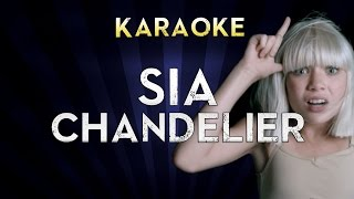 Sia - Chandelier | Lower Key 3 (G) Karaoke Instrumental Lyrics Cover Sing Along