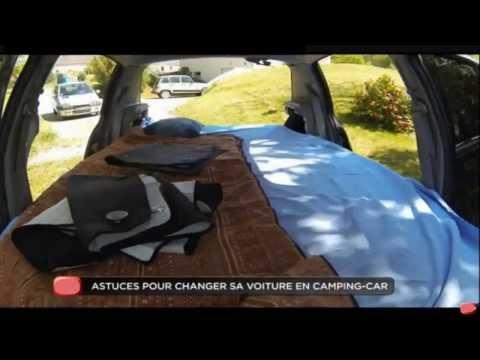 dormir en voiture comment transformez votre voiture e doovi. Black Bedroom Furniture Sets. Home Design Ideas