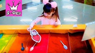 DIY: КАК нарисовать картину цветным песком. Мастер-класс. Развивающе видео для детей