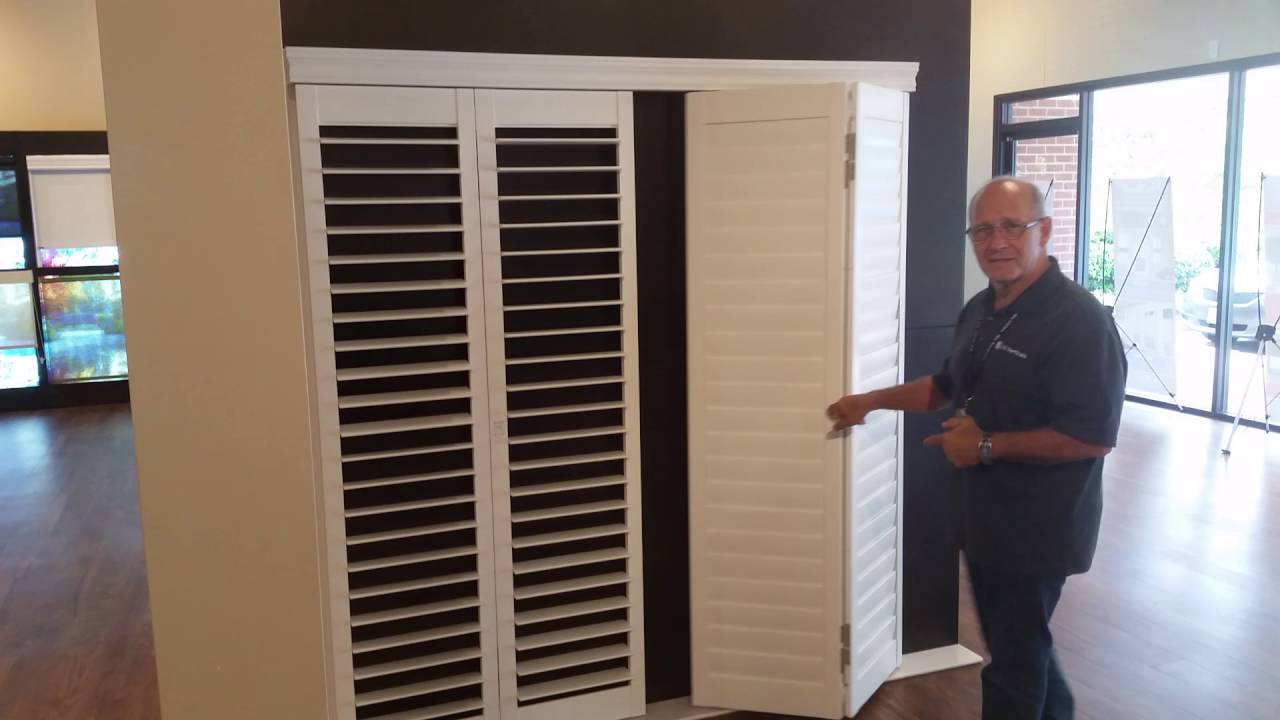 Norman Shutters Bi Fold 180 Auto Close Feature Youtube