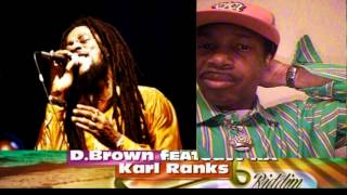 Dennis Brown ft Karl Ranks-Stop the fussing and fighting & more ..(Nov 2013)