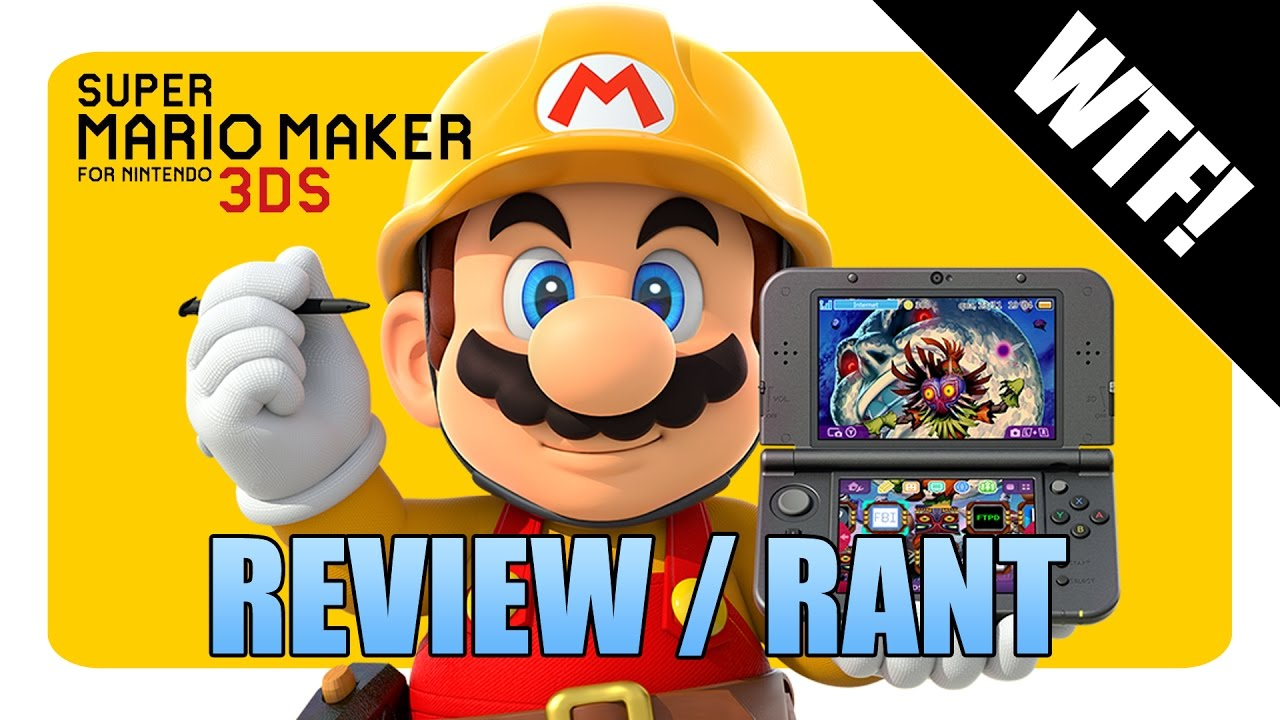 Download Super Mario Maker 3DS Review / Rant