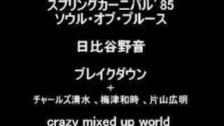 ソウルオブブルース ブレイクダウン crazy mixed up world