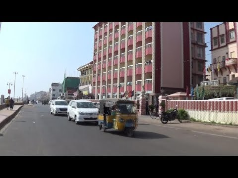 Luxurious Hotels at Puri Sea Beach Marine Drive Road - Odisha Tourism || INDIAN TOURISM