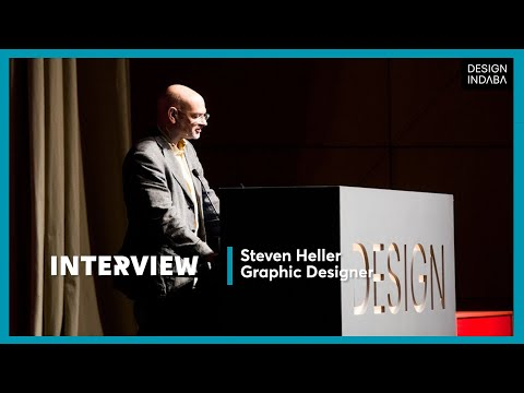 Steven Heller on the power graphic design has on one's mind.