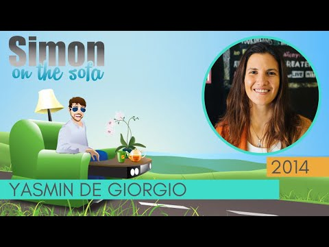 Yasmin de Giorgio | Evolutionary entrepreneur | Conscious business | Simon on the Sofa