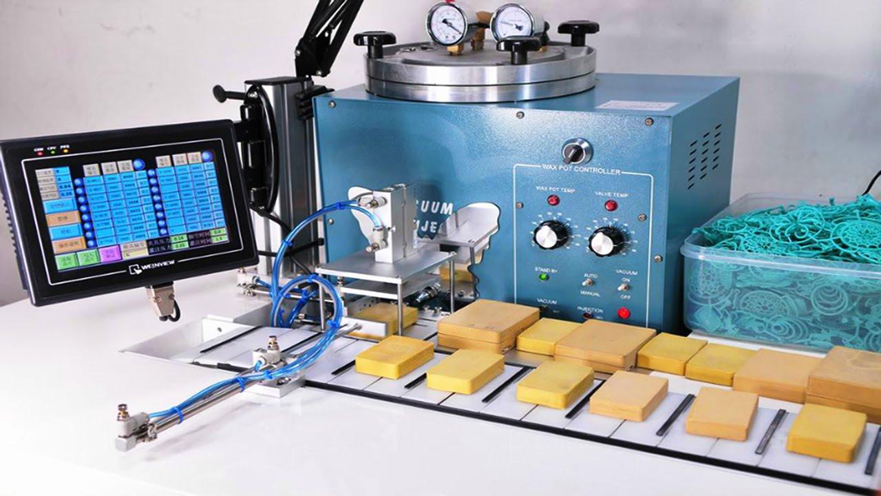 Jewelry Tools Wax Injector Equipment Automatic Desktop