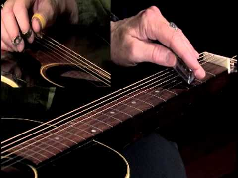 Lap Slide Blues for the Solo Player by Mary Flower