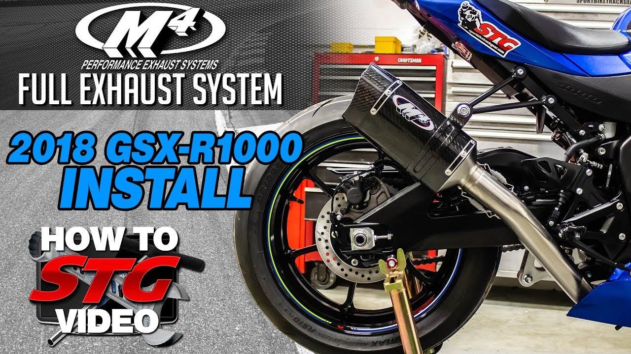 2018 Suzuki GSXR 1000 R STG How To Project Bike Build from