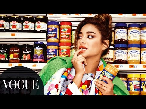 Shay Mitchell Sexing Up The Supermarket in NYC | Fashion Film | VOGUE India