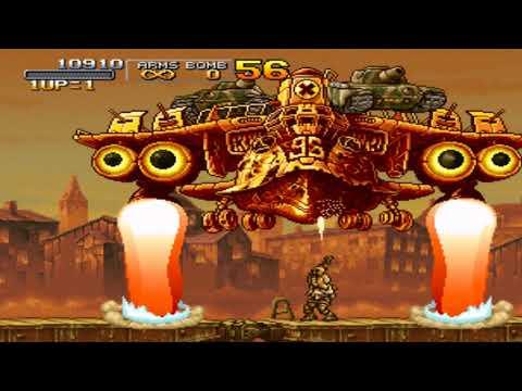 Metal Slug X Full Steam Gameplay