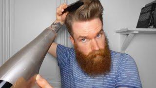 HAARSTYLING TUTORIAL für MASSIVES VOLUMEN  Männer Styling Tipps