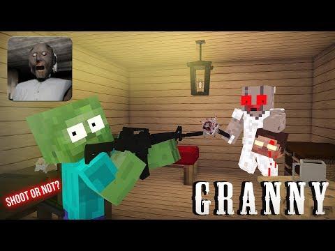 granny horror game minecraft