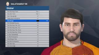 Pes 2017 Face Build | Ahmet Çalık [Galatasaray] PS4