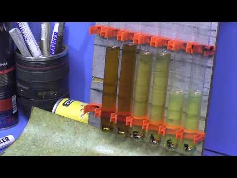 Тест диэстерового масла Carbonfox ESTER L132