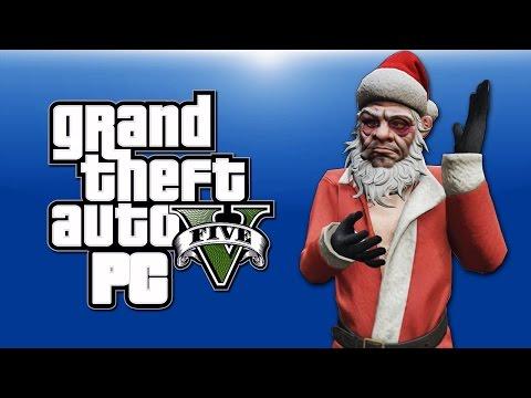 GTA 5 PC Online Funny Moments - XMAS DLC!...