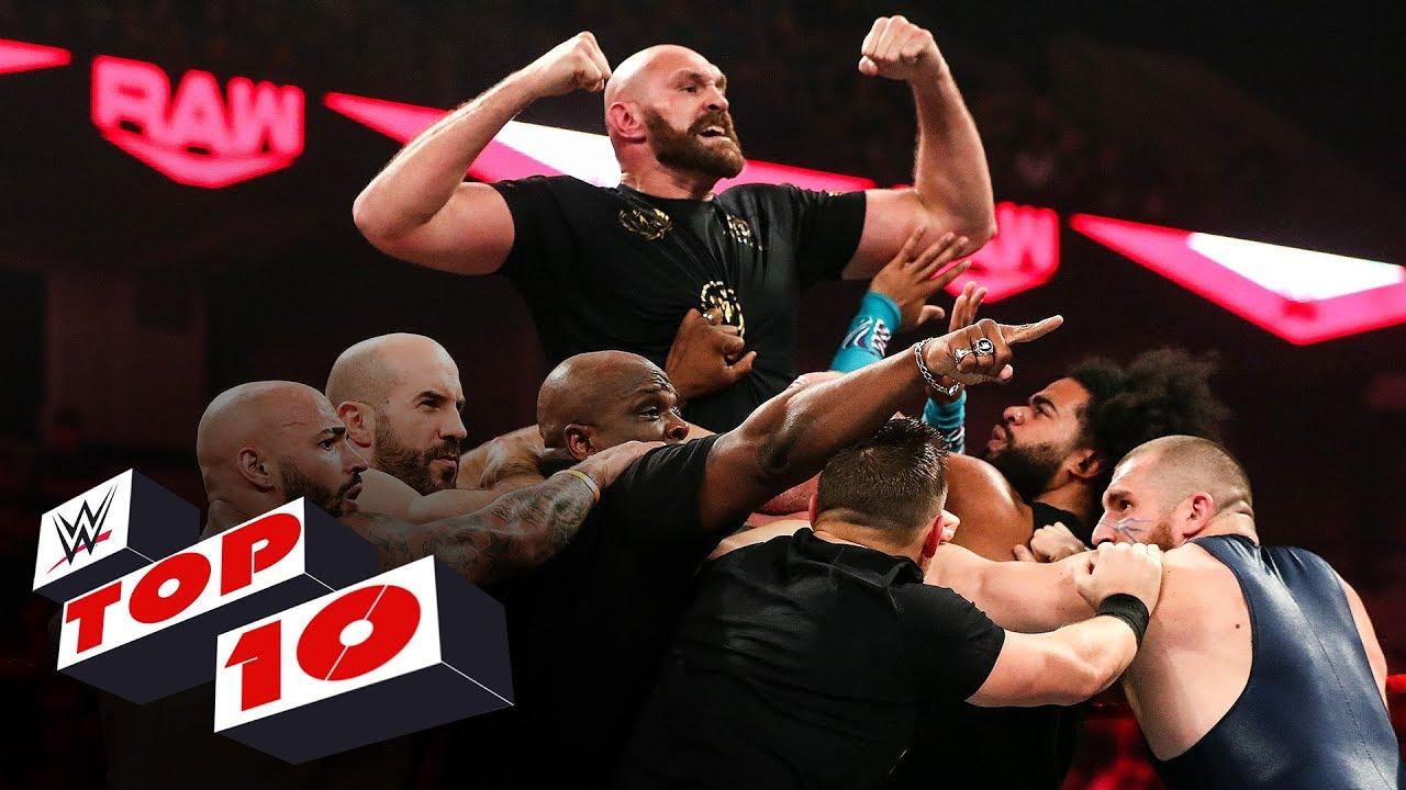 Download Top 10 Raw moments: WWE Top 10, Oct. 7, 2019