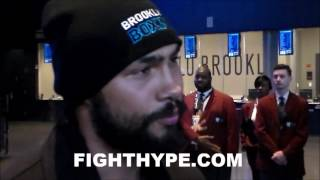 KEITH THURMAN REVEALS TRASH TALK EXCHANGED WITH DANNY GARCIA DURING FACE OFF; LET HIM KNOW 2 THINGS