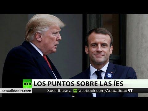 """""""Ser Aliado No Es Ser Vasallo"""": Macron Responde A Críticas De Trump A Su Idea De Ejército Paneuropeo"""