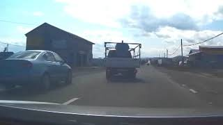 Producerea unui accident în Neamț - mașină cu volan pe dreapta