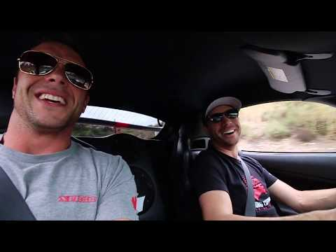 Taking my GoPed buddy for a ride in the 800HP Viper ACR!!!