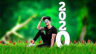 Happy New Year 2020 Photo Editing Christmas Special Photo Editing 2020 Manipulation Edit