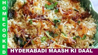 Urdu Hyderabadi Maash Ki Daal