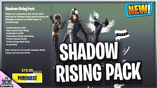 *NEW* Shadow's Rising pack In Fortnite battle Royale