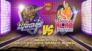 CLS Knights Indonesia VS Tanduay Alab Pilipinas  | ABL 2017 - 2018