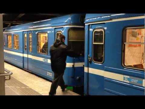 Tunnelbanesurf / stockholm subway surfing C6H @ Sweden (HD)