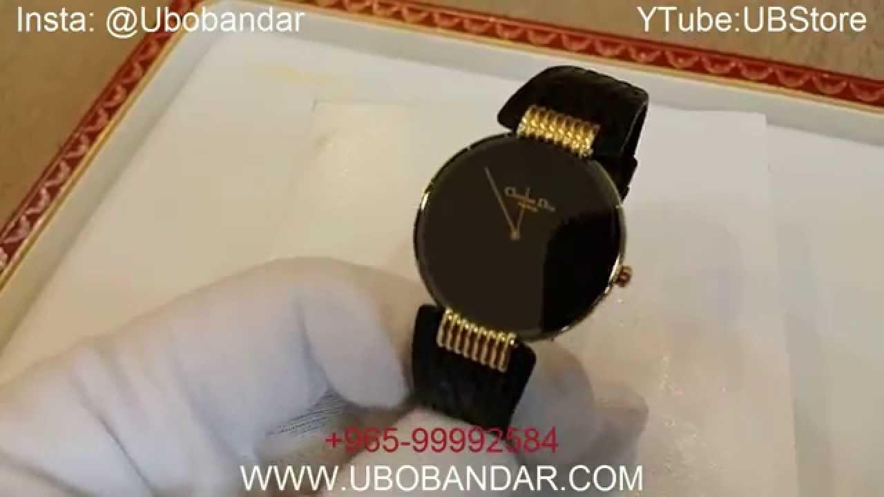 597e36bf8 Rare Vintage Men Christian Dior BlackMoon Watch - YouTube