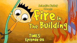Feuer Entkommen Cartoon   Feuer Im Gebäude   TINIES 03   Animation Korb