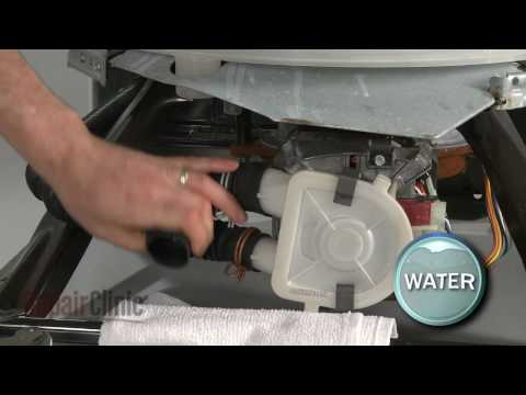 How To Replace A Whirlpool Kenmore Tub To Pump Hose
