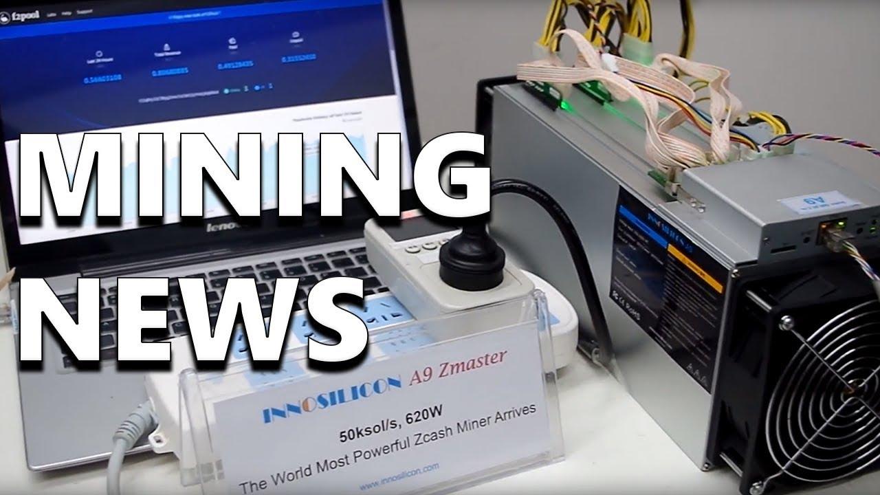 Equihash A9 ZMaster and Cryptonight/Lyra2z FPGA Announced