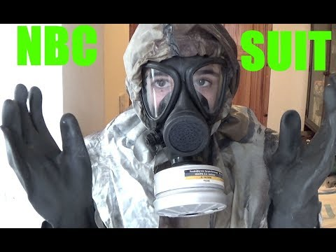 How To Put On A NBC/CBRN Suit