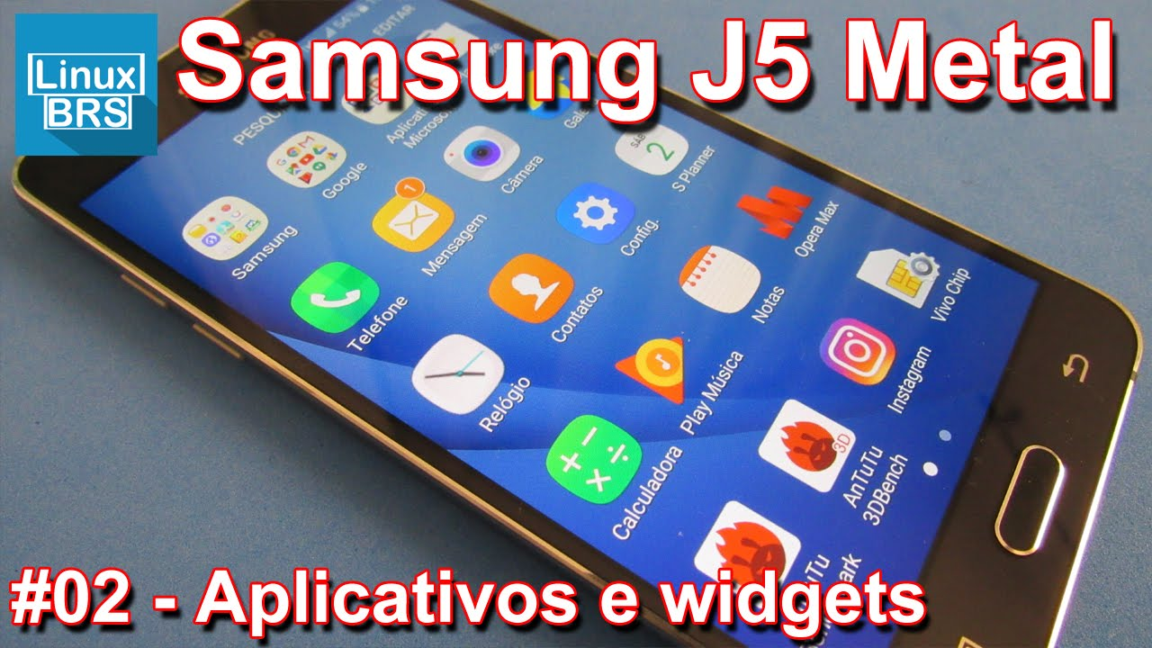 Widget Calendario Samsung.Samsung Galaxy J5 2016 Metal Aplicativos E Widgets