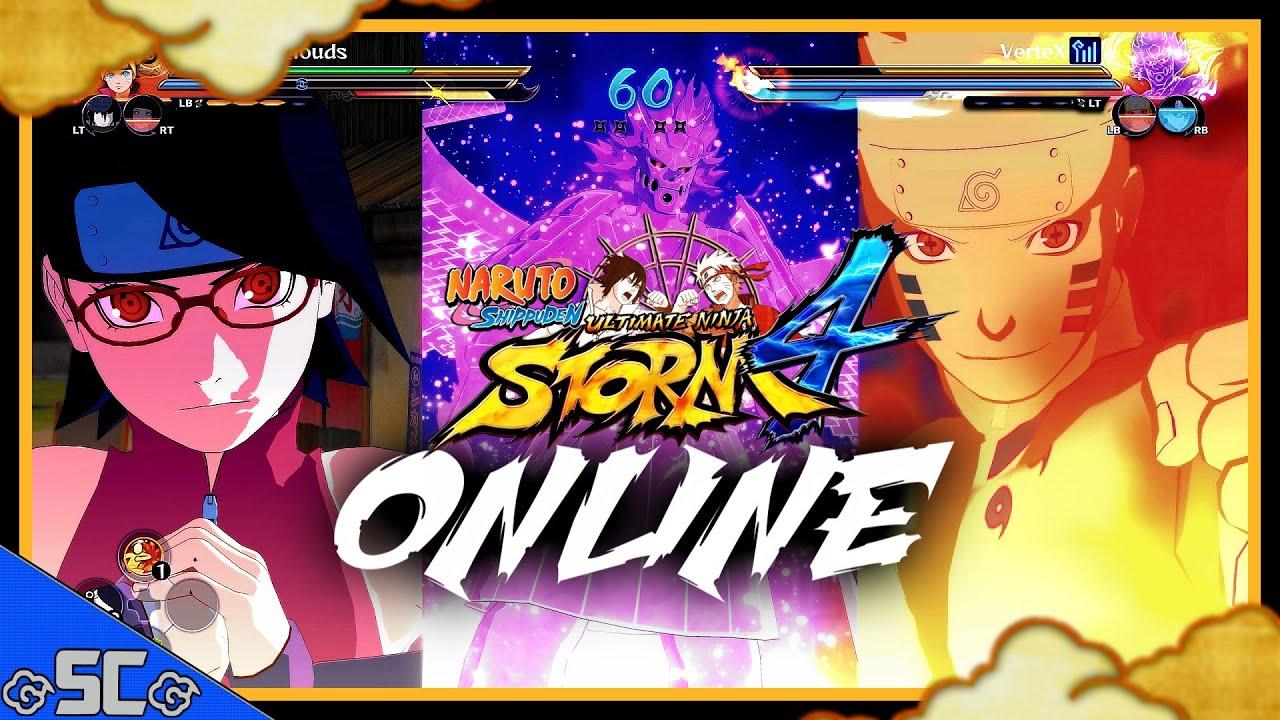 Игра наруто шторм 4 играть онлайн