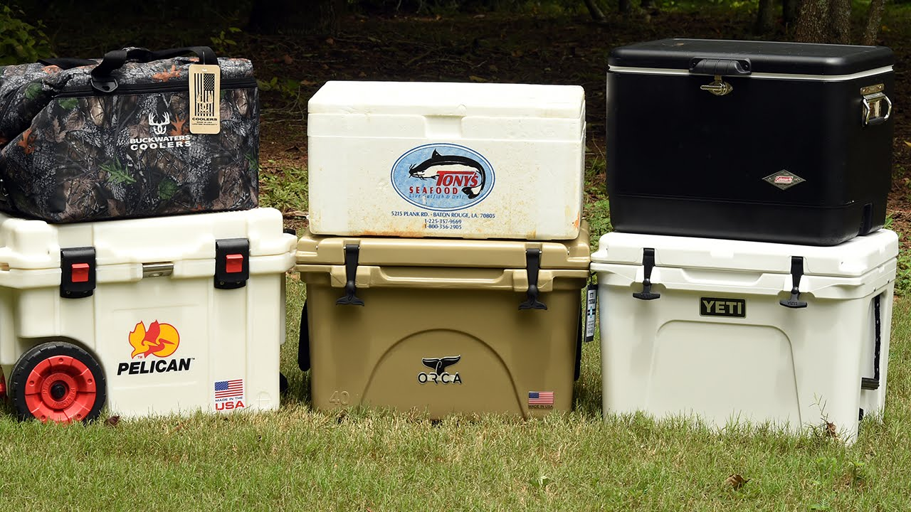 Do expensive coolers hold ice longer? Yeti, Coleman, Buckwaters