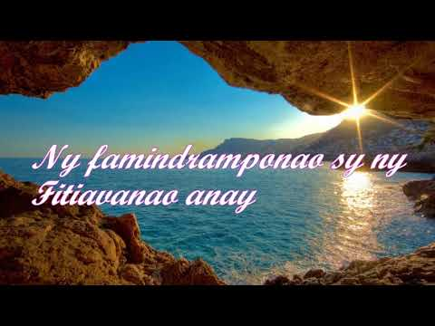 AMPY HO ANAO NY FAHASOAVAKO - Fara ANDRIAMAMONJY - Instrumental