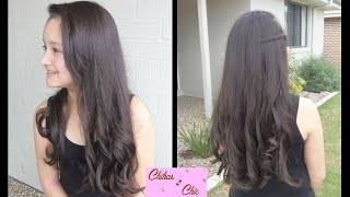 How to: Wavy Hair using Hair Dryer! | Curly Hairstyles