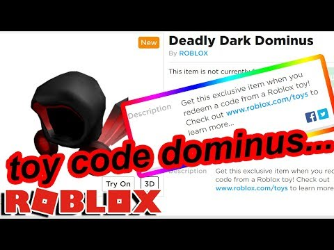 ROBLOX MADE A NEW DOMINUS BUT ITS ONLY FROM TOY CODES   WHY