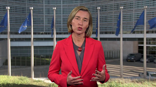 Federica Mogherini's video-message on Europe Day